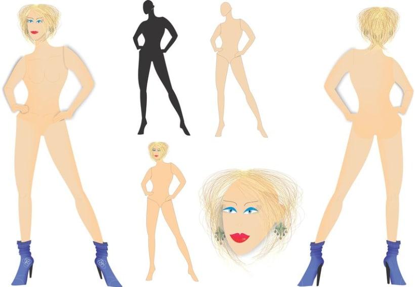 diseño de figurines 10