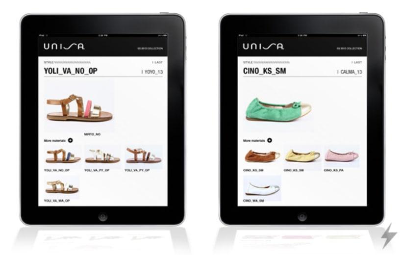 Unisa catálogo iPad 2