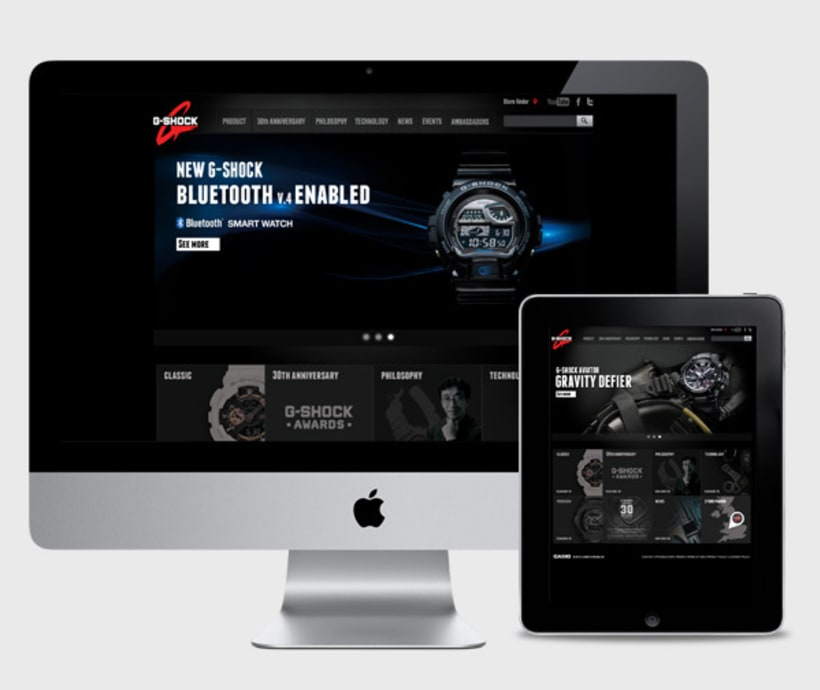 G- Shock Casio Website 2