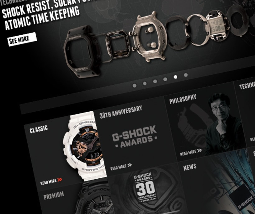 G- Shock Casio Website 3