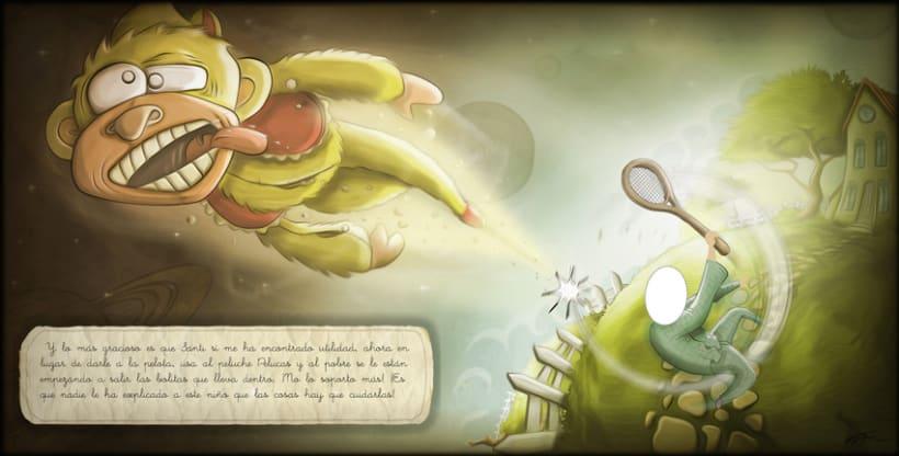 Ilustración - ¡Que Desastre! 4