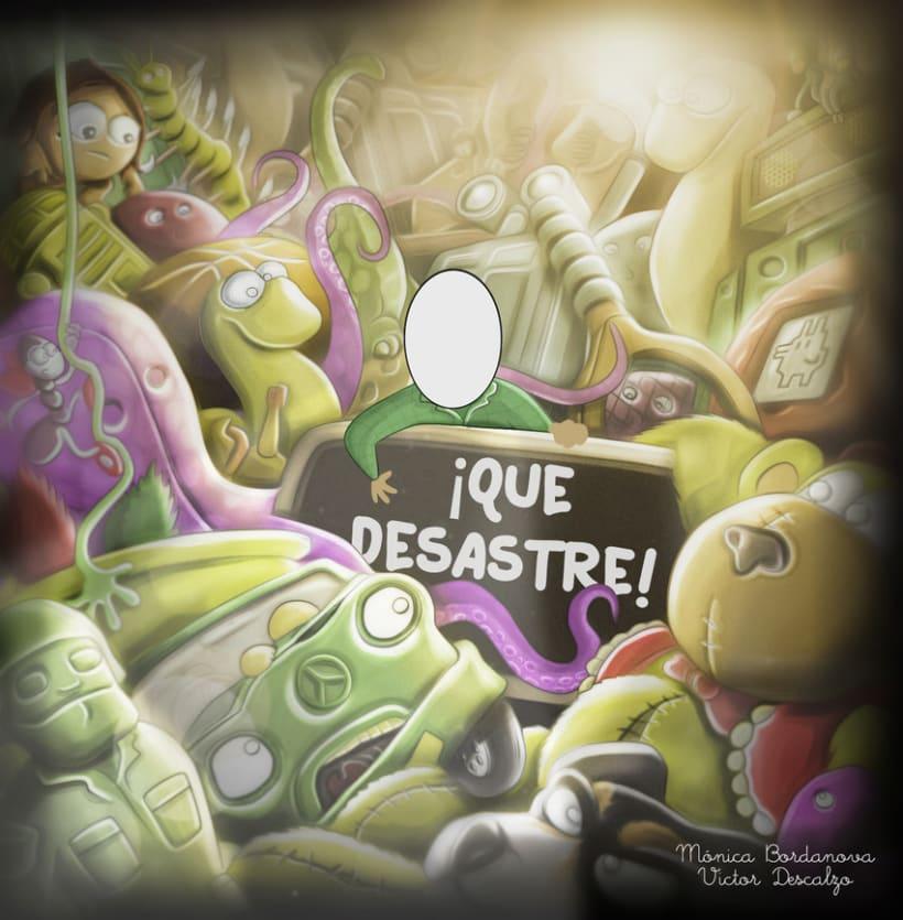 Ilustración - ¡Que Desastre! 1