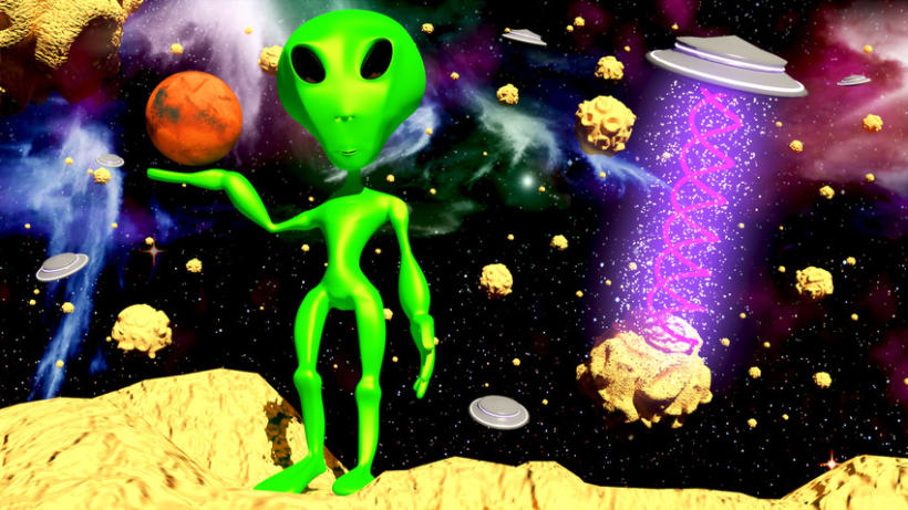 Alien 3D 1