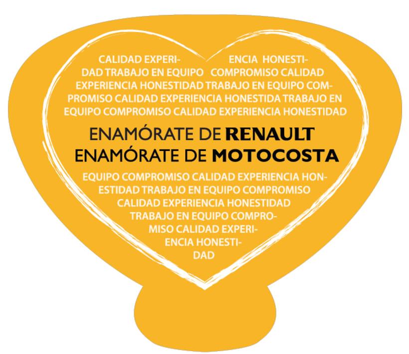 Motocosta Renault 7