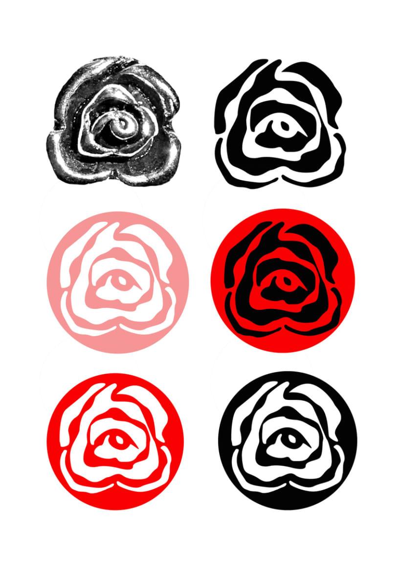 Desarrollo logo para la firma de bisutería Cristina Mas 1