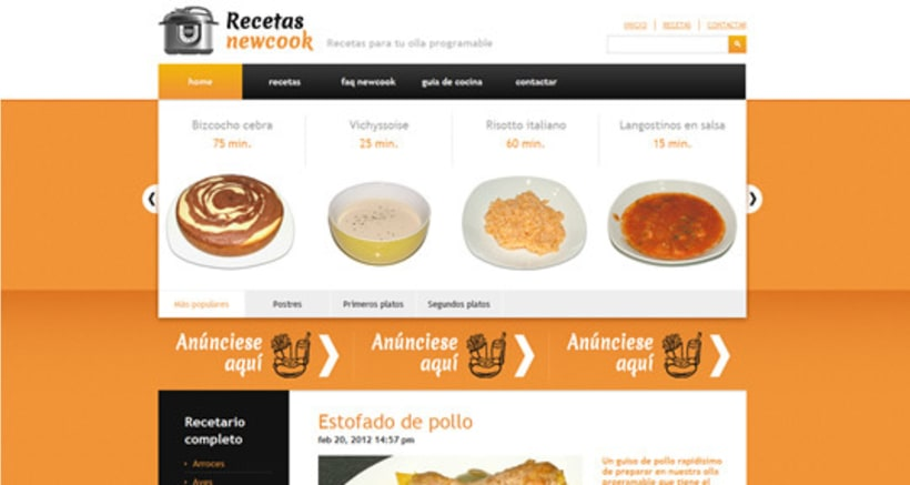 Recetas Newcook 2