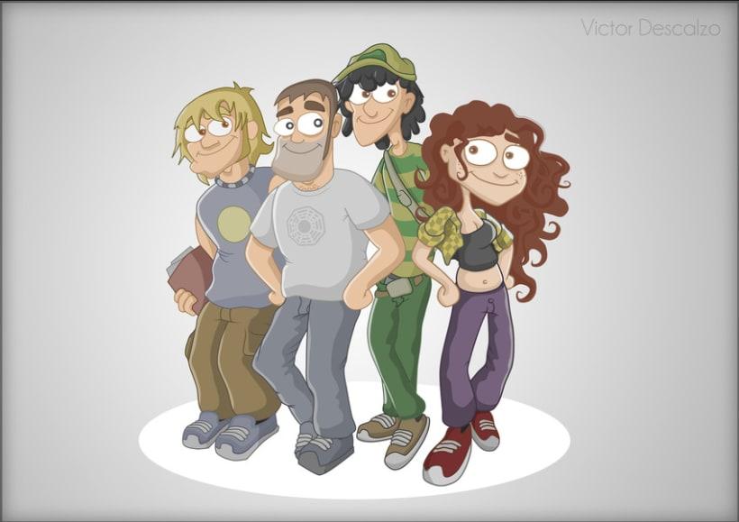 Ilustración - Personajes 0