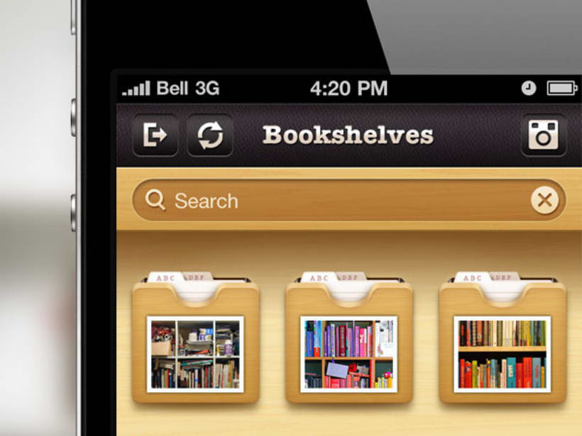 Evershelf iPhone App 2