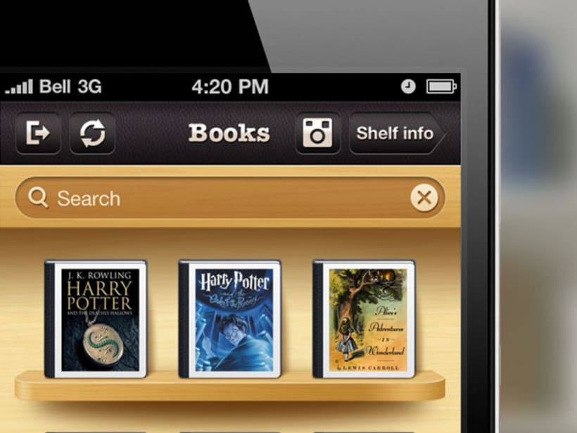 Evershelf iPhone App 3