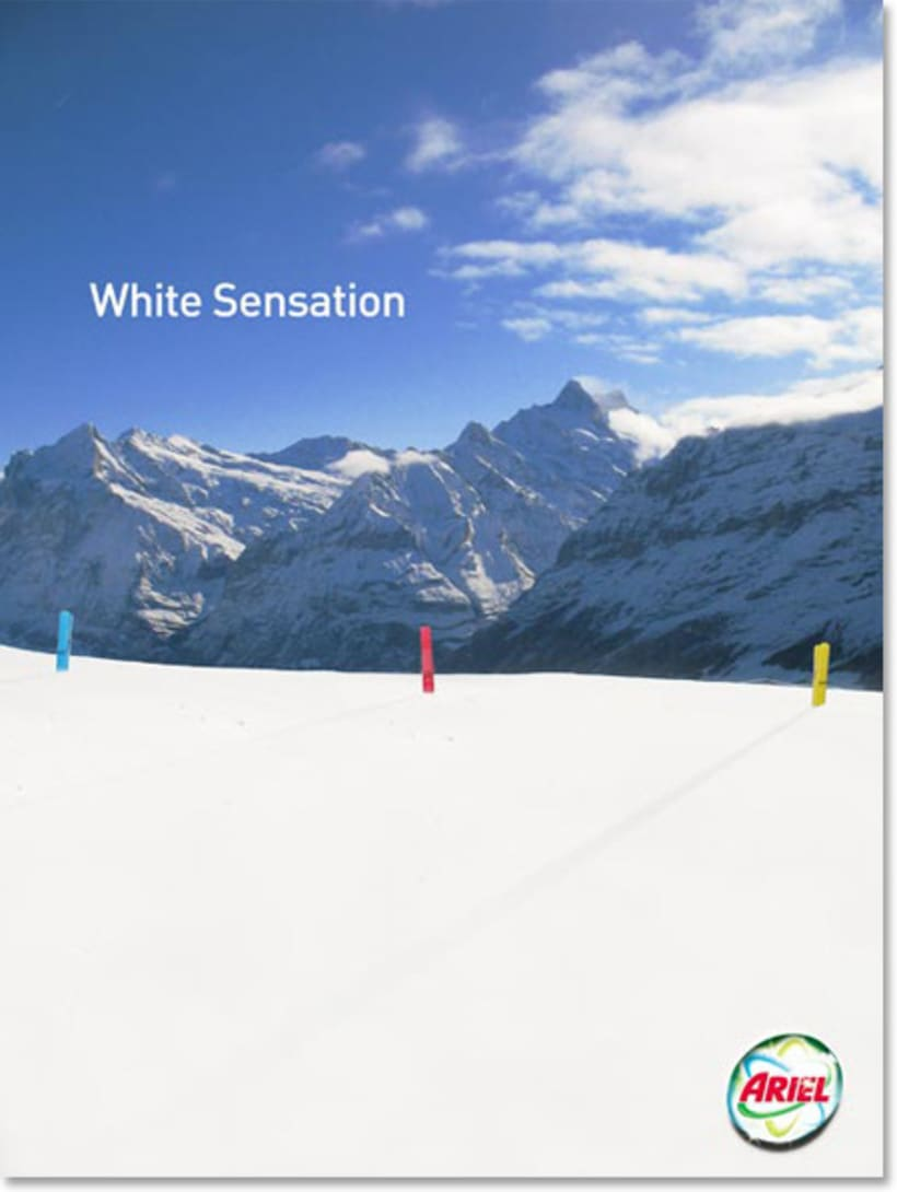 Ariel White Sensation 1