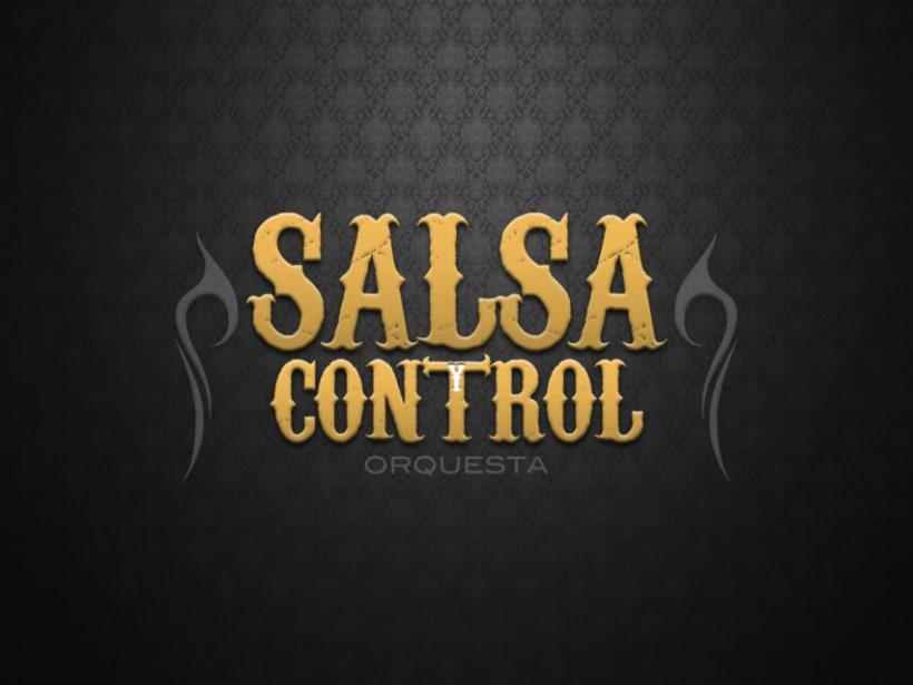 Logotype Salsa y Control orquesta 7