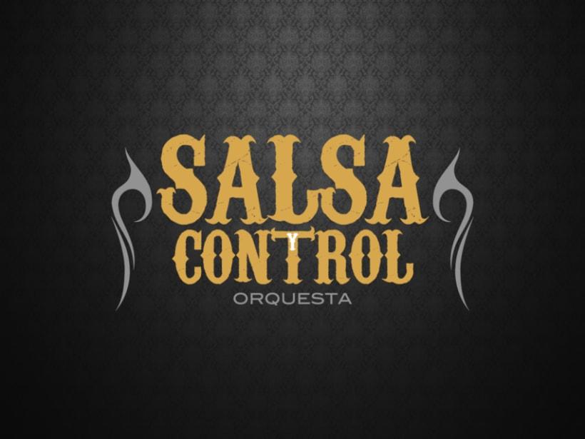 Logotype Salsa y Control orquesta 6