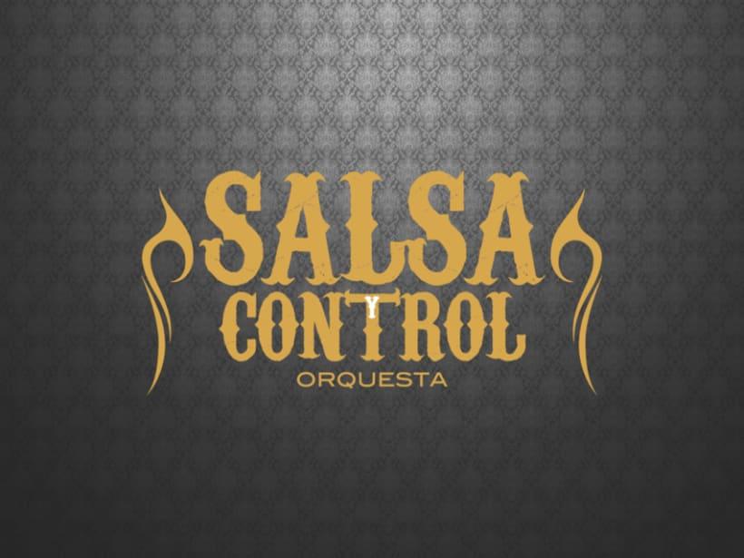 Logotype Salsa y Control orquesta 4