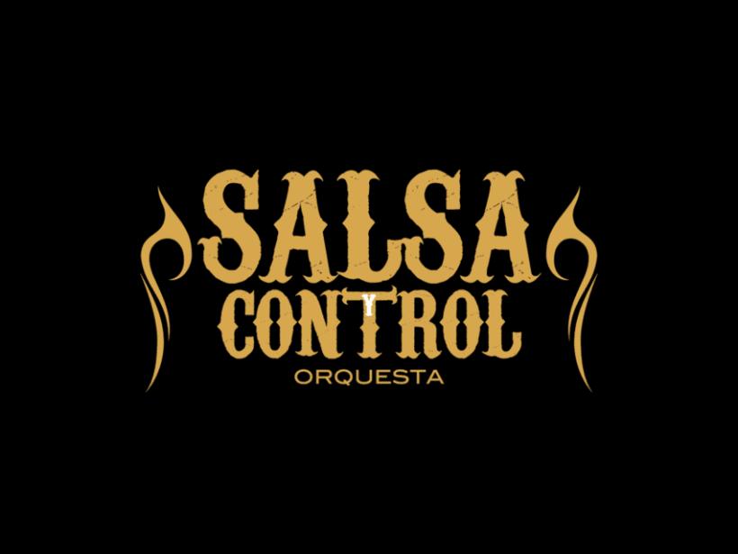 Logotype Salsa y Control orquesta 3