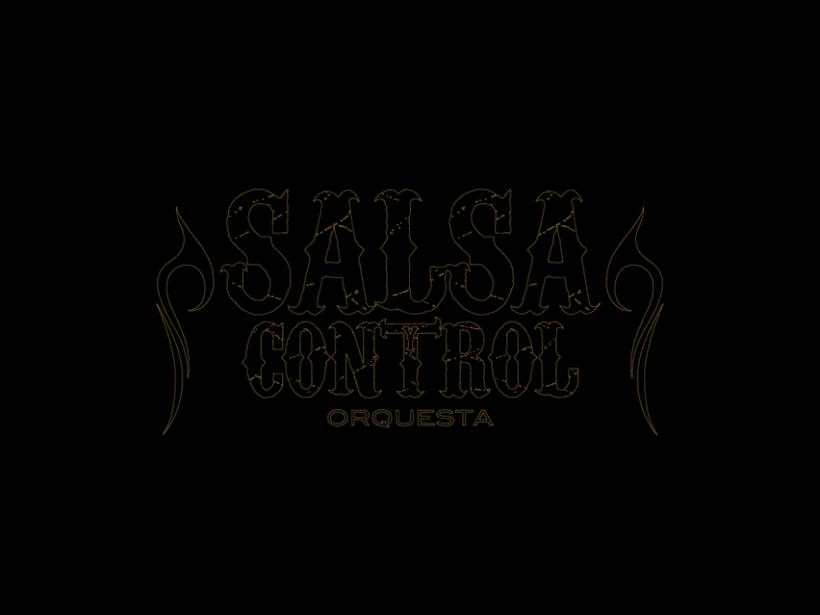 Logotype Salsa y Control orquesta 2
