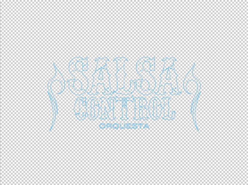 Logotype Salsa y Control orquesta 1