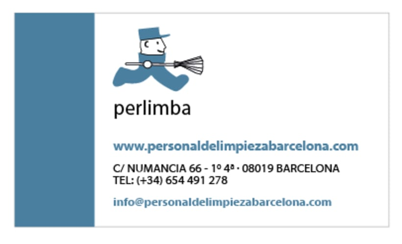 Logo & Business Card - Perlimba 1