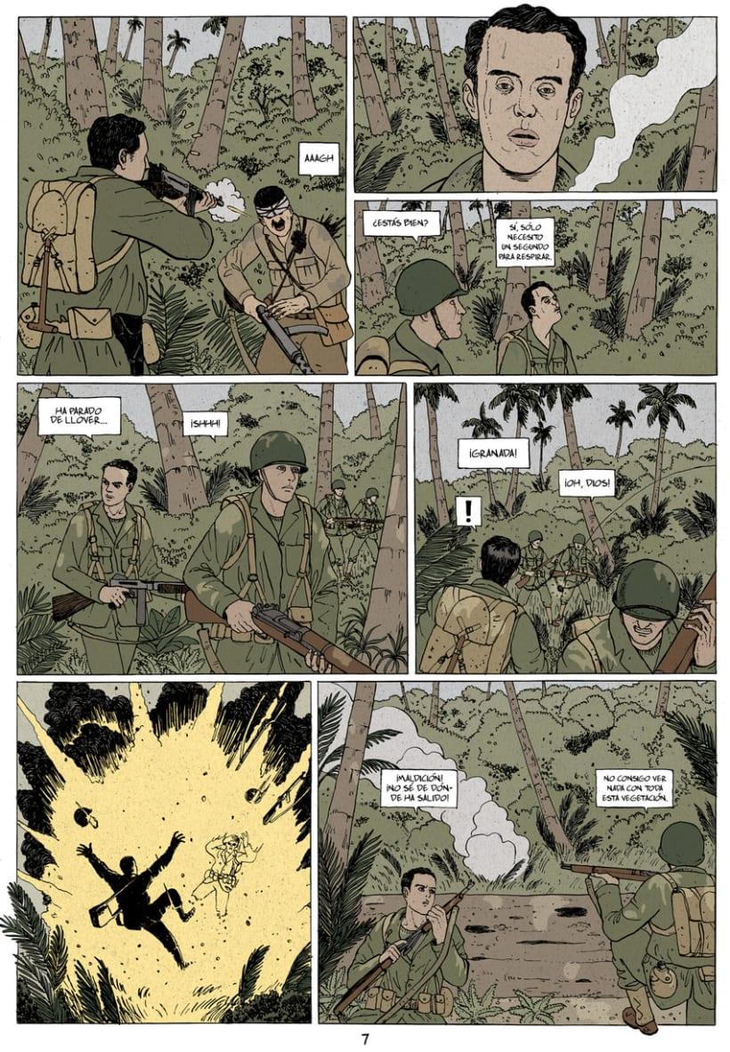 Asalto al atolón de Makin 5