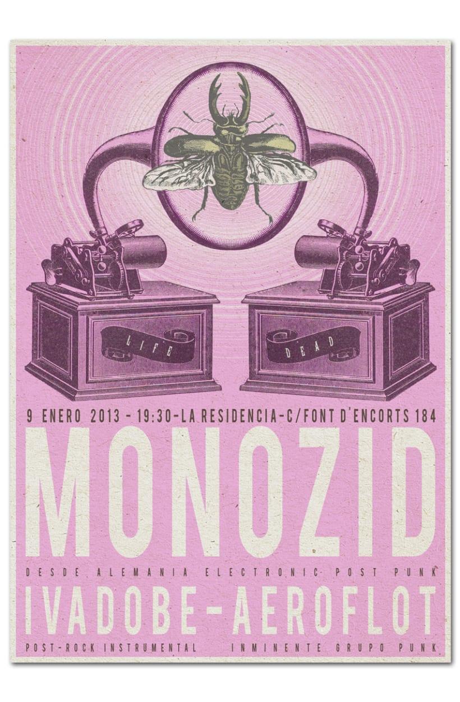 MONOZID + IVADOBE + AEROFLOT | poster 1