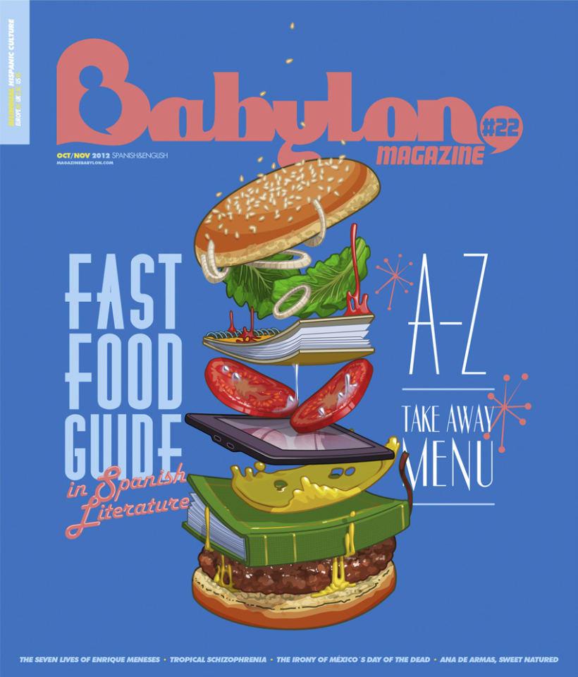 Portadas Babylon MAgazine 18