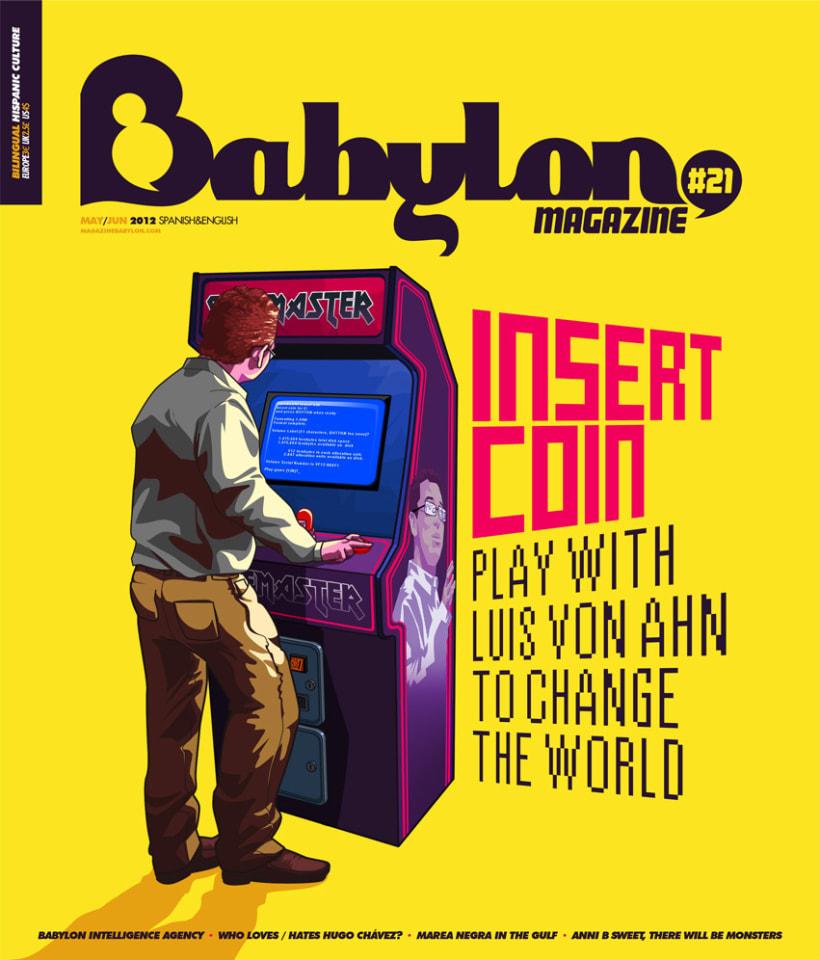 Portadas Babylon MAgazine 17
