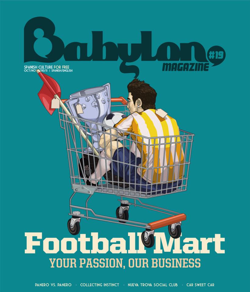 Portadas Babylon MAgazine 15