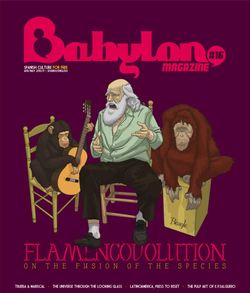 Portadas Babylon MAgazine 11
