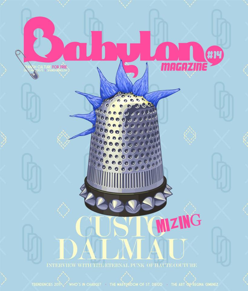 Portadas Babylon MAgazine 9