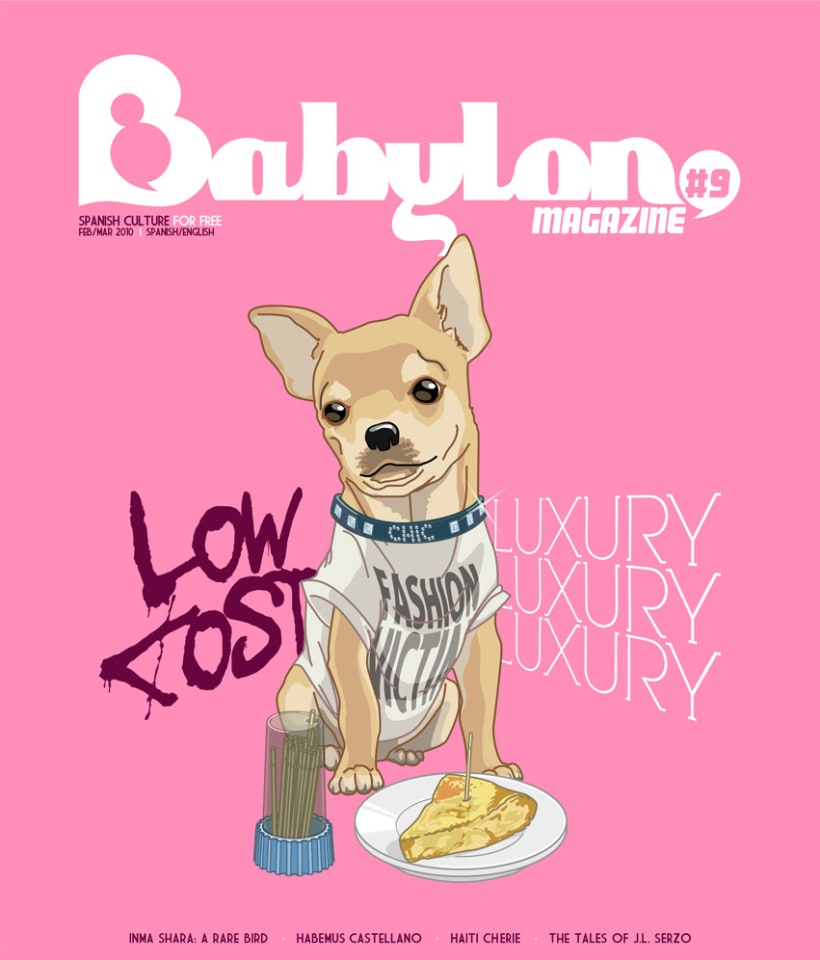 Portadas Babylon MAgazine 7