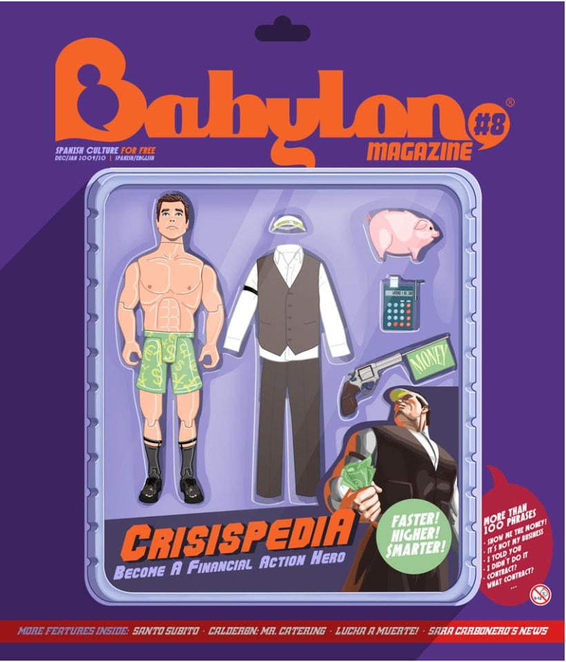 Portadas Babylon MAgazine 6