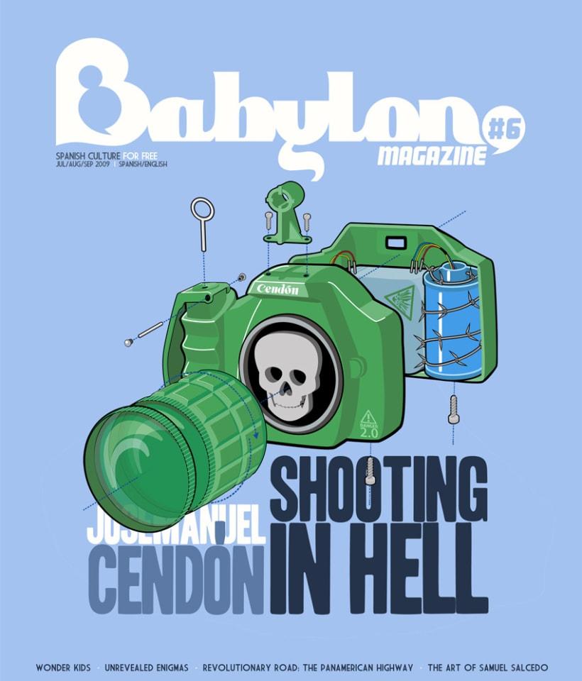 Portadas Babylon MAgazine 5