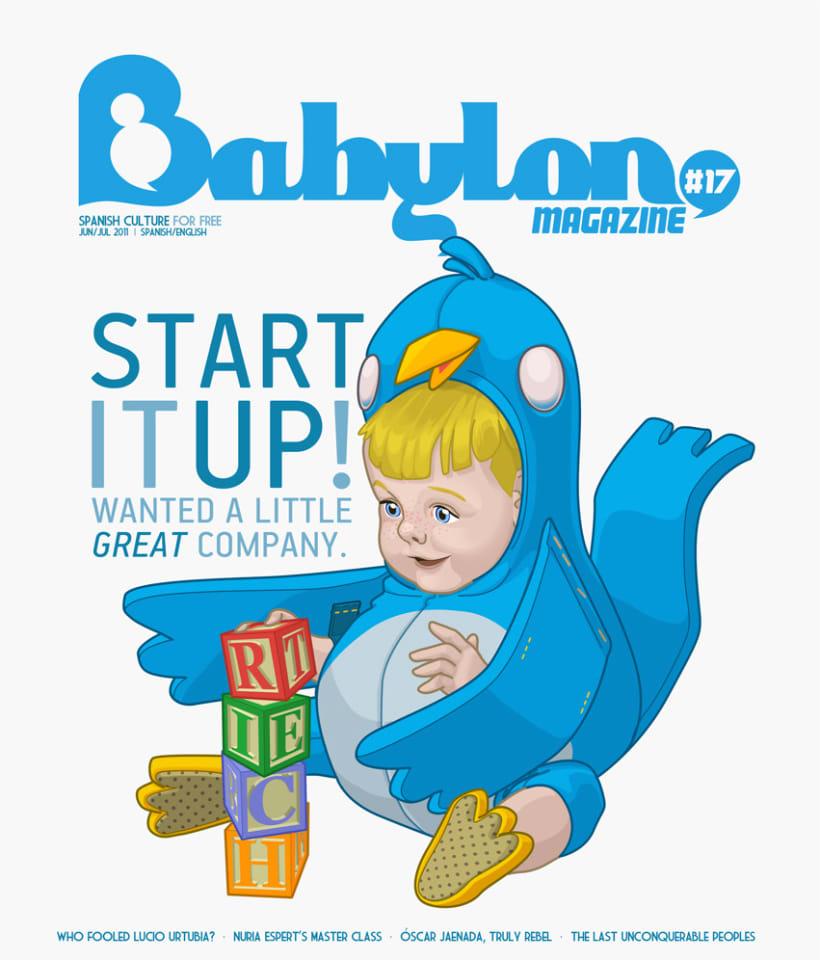 Portadas Babylon MAgazine 12