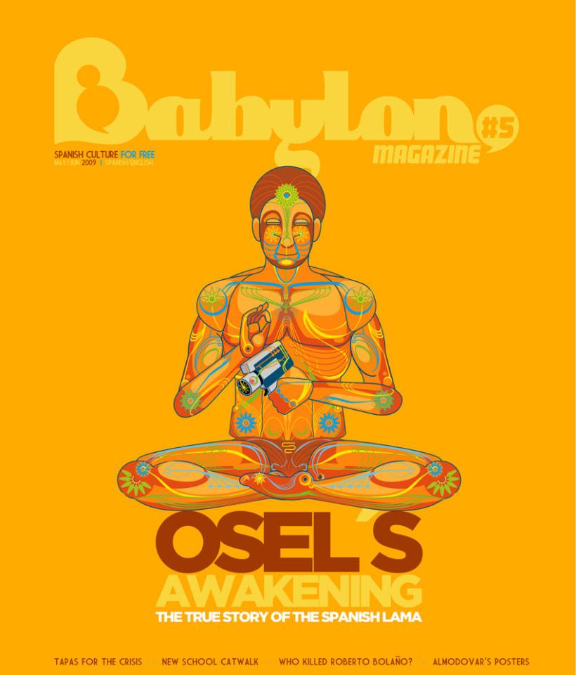 Portadas Babylon MAgazine 4