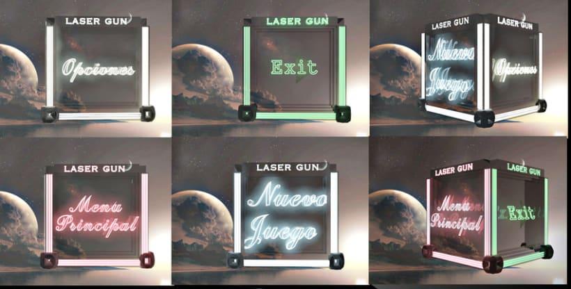 Videojuego Laser 4
