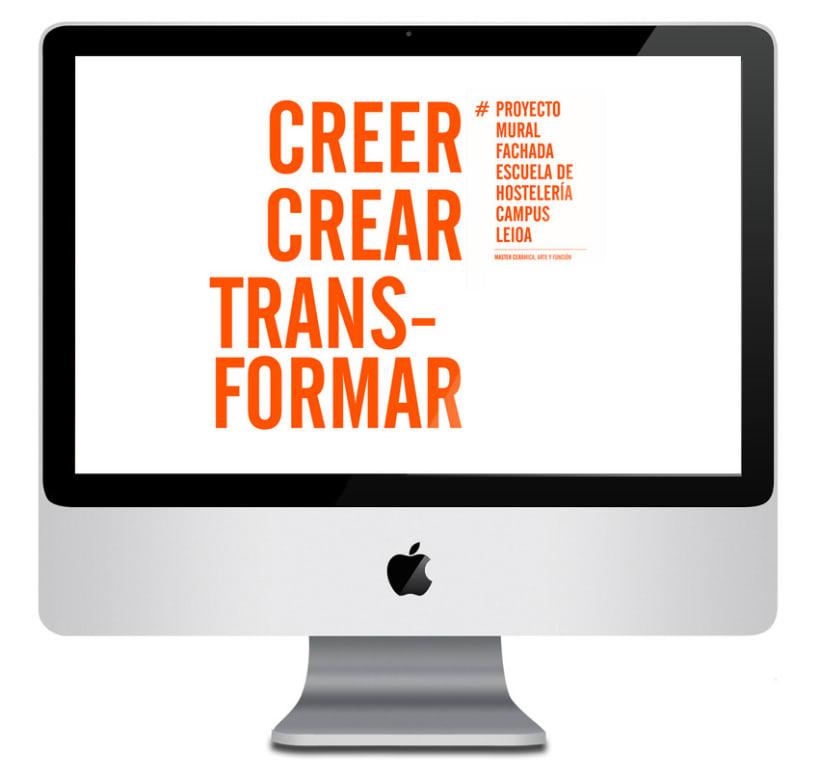 Creer, Crear, Transformar 30