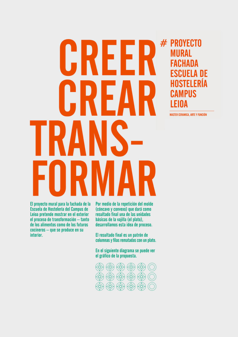 Creer, Crear, Transformar 26