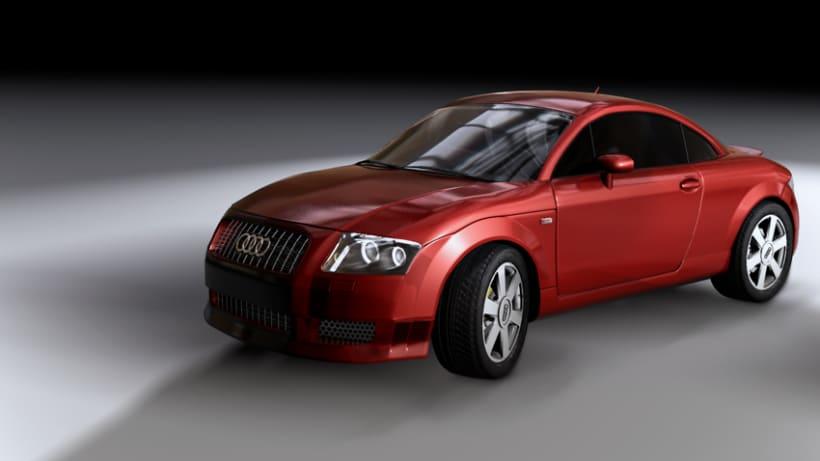 Audi TT  3d Modeling 2
