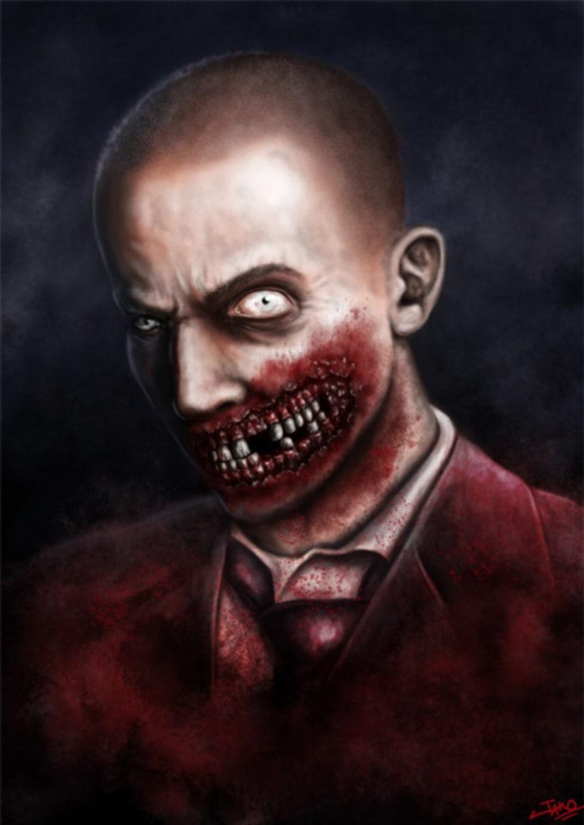 Zombie Portrait 1