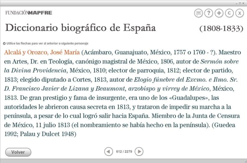 Diccionario Biográfico de España (1808-1833) 5