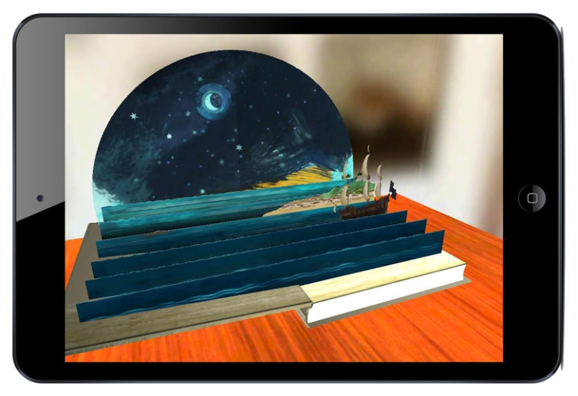 App iPad para Museo Naval 3