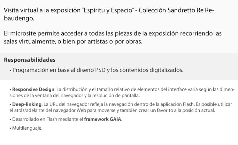 """Visita virtual expo """"Espíritu y Espacio"""" 2"""
