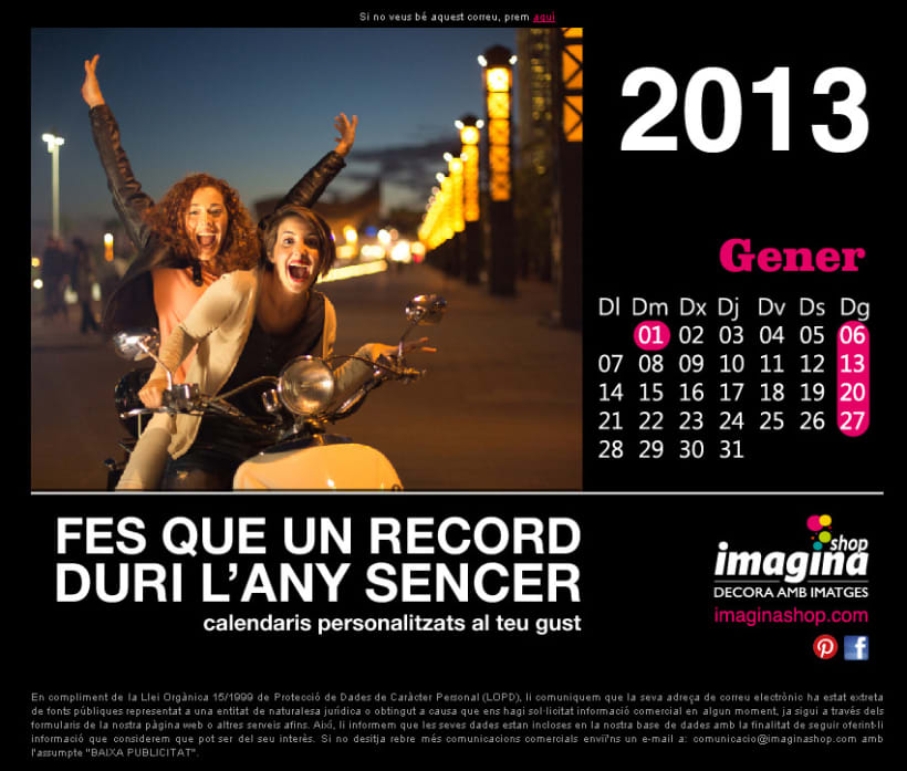 Calendarios Personalizados 2
