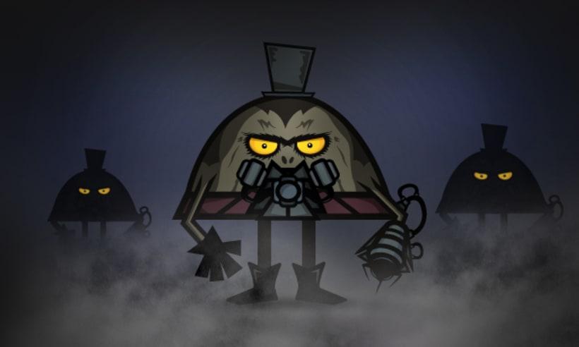 Ilustración de Personajes 4