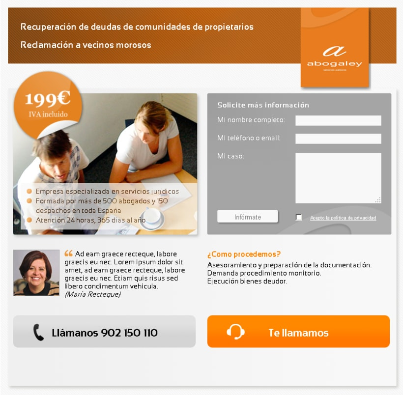 Diseño WEB: Landin Pages 3