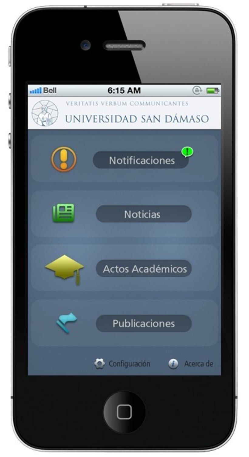 HTML5 Design for App Iphone 1