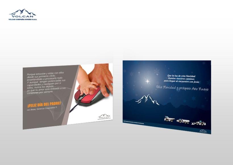 Campañas internas | Minera Volcan 8