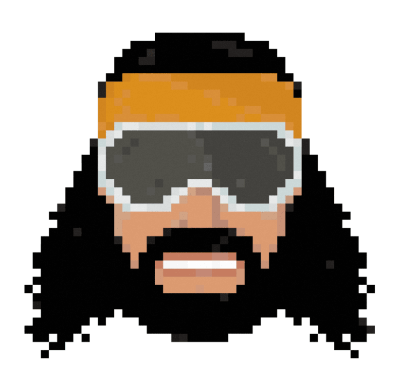 Wrestling Superstars pixel-portraits 3