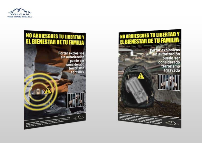 Campañas internas | Minera Volcan 4