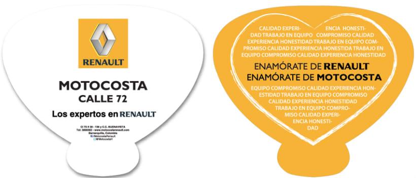 Motocosta Renault 6