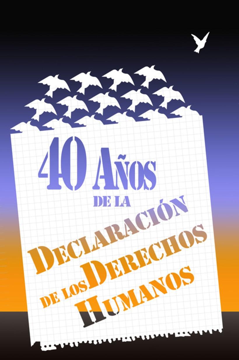 40 Años de la Declaración de los Derechos Humanos 1